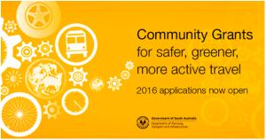 DPTI Community Grants 2016